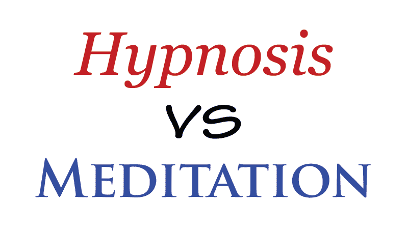 Meditation Vs Hypnosis